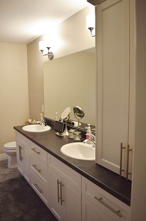 Bruce county custom cabinets custom bathroom for Complete bathroom renovations