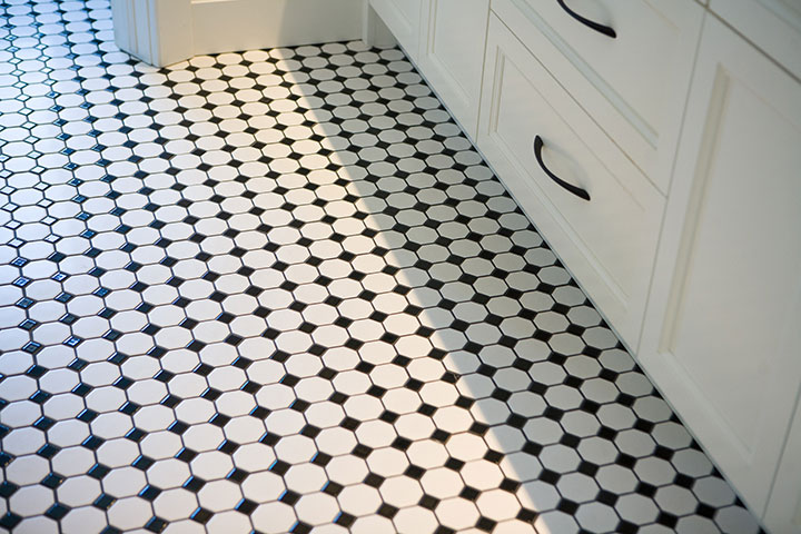 Custom Bathroom Finishes and Flooring