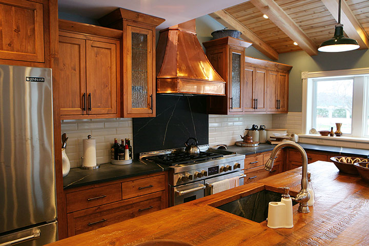 Bruce County Custom Cabinets  Copper & Pine Custom Kitchen Cabinets
