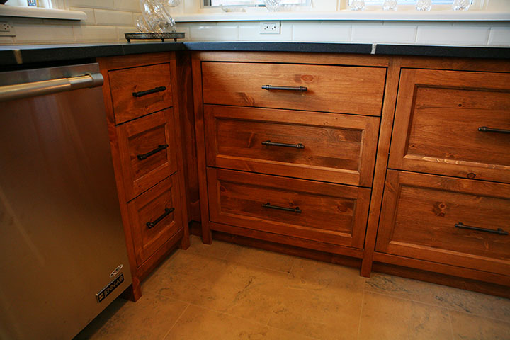 Bruce county custom cabinets copper pine custom kitchen cabinets - Custom kitchen cabinet manufacturers ...