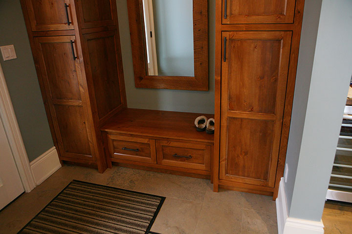 Wood Cabinet Design & Installation