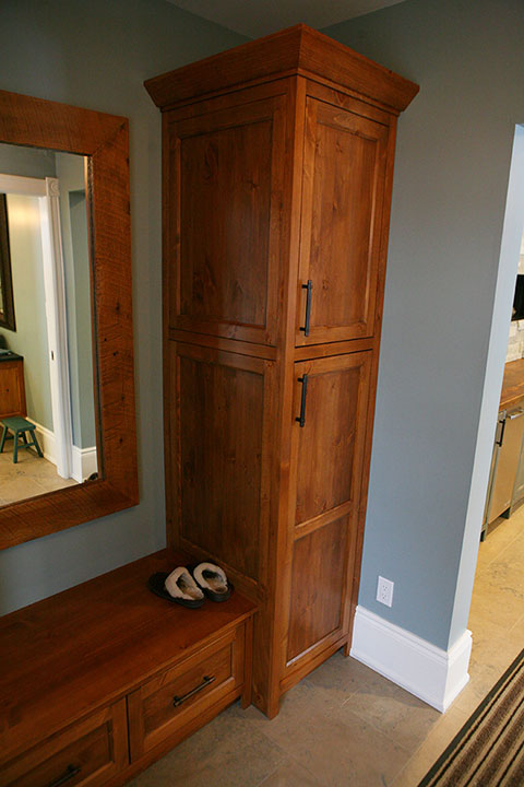 Bruce county custom cabinets copper pine custom kitchen cabinets - Custom made kitchen cabinets ...