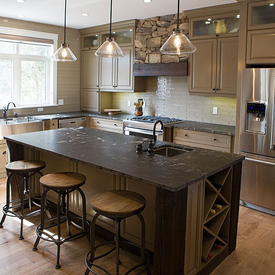 custom kitchen classic meets rustic category kitchens ontario kitchen renovations cabinets - Ontario Kitchen Cabinets