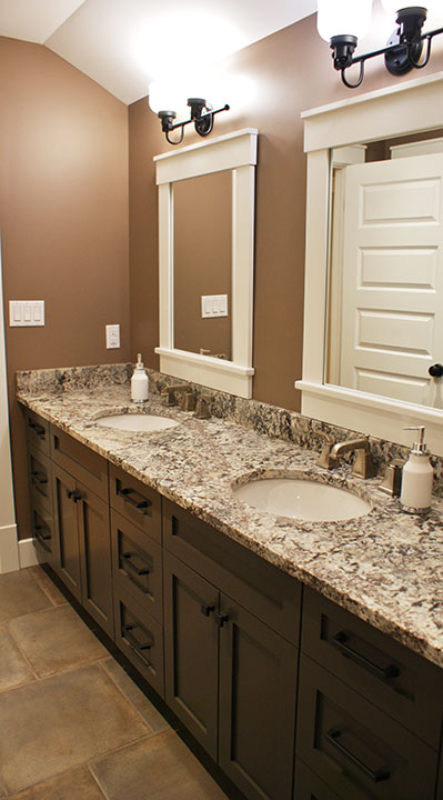 Bathroom Counters and Cabinets Ontario