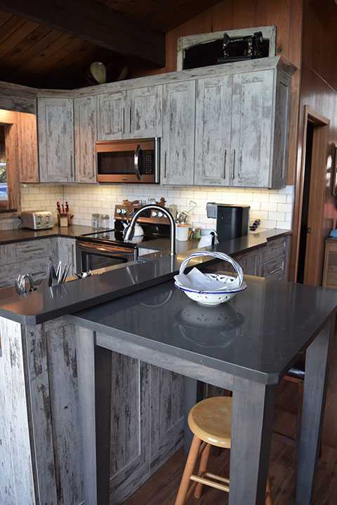 Port Elgin Custom Kitchen Cabinets and Finishes